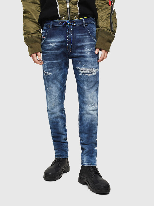 Krooley JoggJeans 0097N, Dunkelblau - Jeans