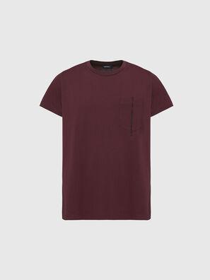 T-RUBIN-POCKET-J1, Rot - T-Shirts