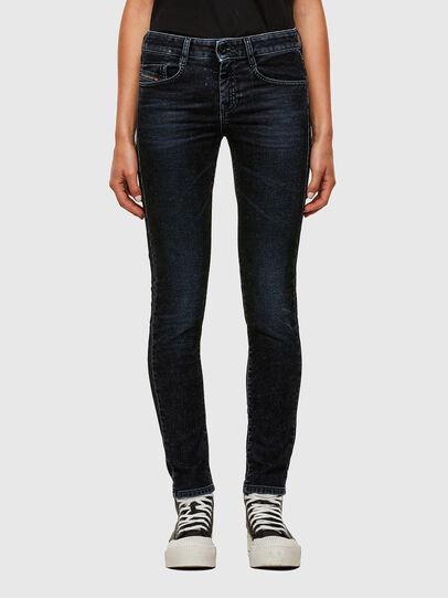 Diesel - D-Ollies JoggJeans® 069UH, Schwarz/Dunkelgrau - Jeans - Image 1