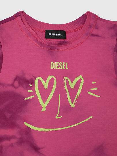 Diesel - TINTDB-R, Rosa - T-Shirts und Tops - Image 3