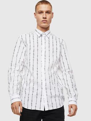 S-BARBWI, Weiß - Hemden