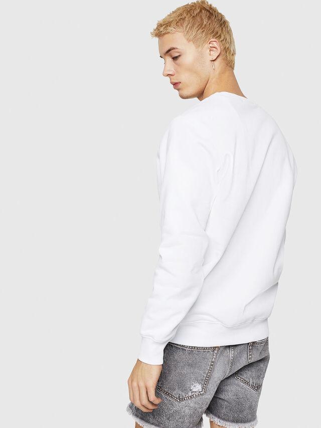 Diesel - S-GIR-Y1, Weiß - Sweatshirts - Image 2