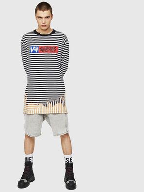 T-OKSANA, Schwarz/Weiß - T-Shirts