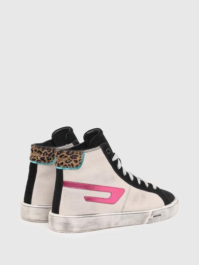 Diesel - S-MYDORI ML W, Rosa/Schwarz - Sneakers - Image 3