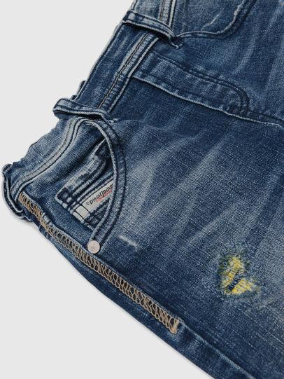 Diesel - KROOLEY JOGGJEANS-B-N, Blau/Gelb - Jeans - Image 3