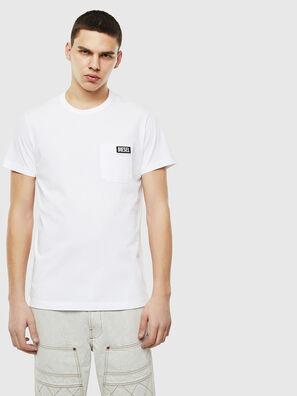T-WORKY-SLITS, Weiß - T-Shirts