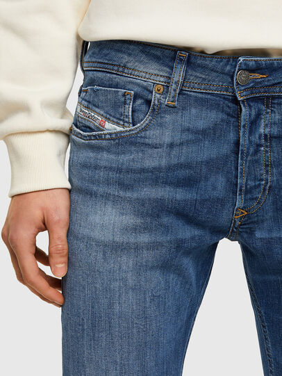 Diesel - Sleenker 009PK, Mittelblau - Jeans - Image 4