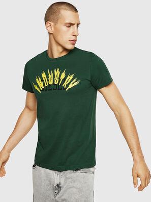 T-DIEGO-A10, Dunkelgrün - T-Shirts