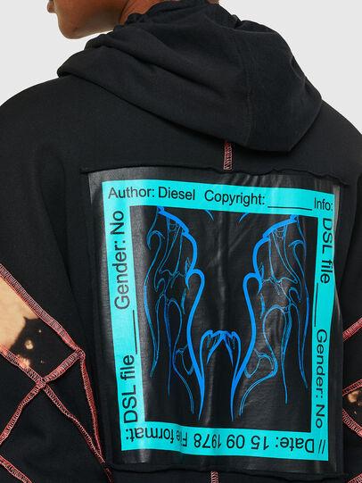 Diesel - D-RESS, Schwarz - Kleider - Image 4
