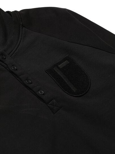Diesel - GR02-T302, Schwarz - Sweatshirts - Image 4