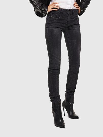 Diesel - D-Ollies JoggJeans 0093H, Schwarz/Dunkelgrau - Jeans - Image 1