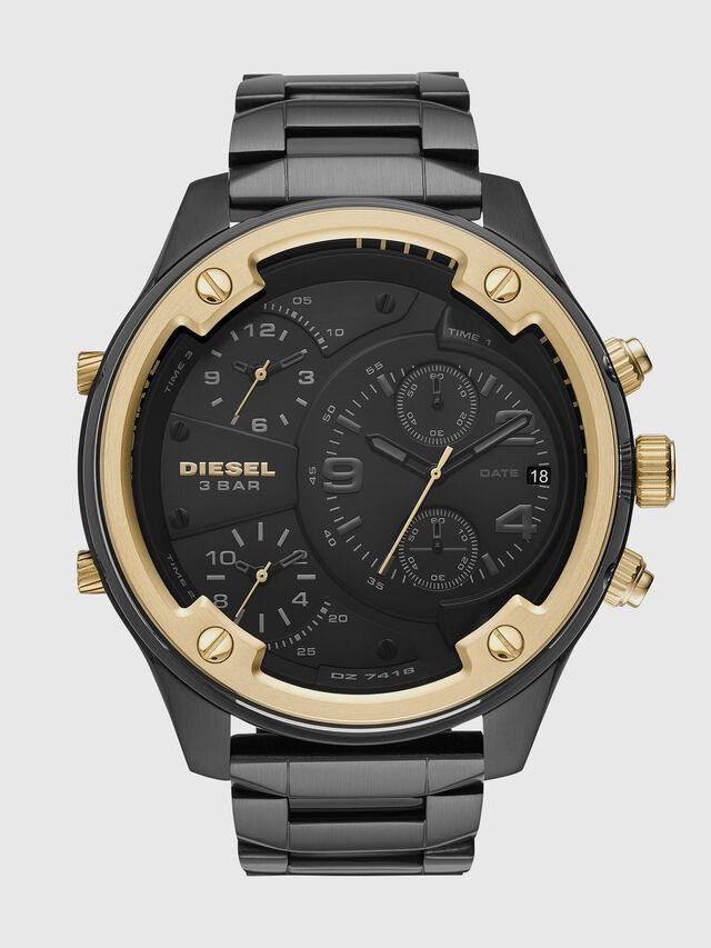 Diesel - DZ7418, Schwarz/Gold - Uhren - Image 1