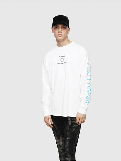 Diesel - T-JUST-LS-YB,  - T-Shirts - Image 5