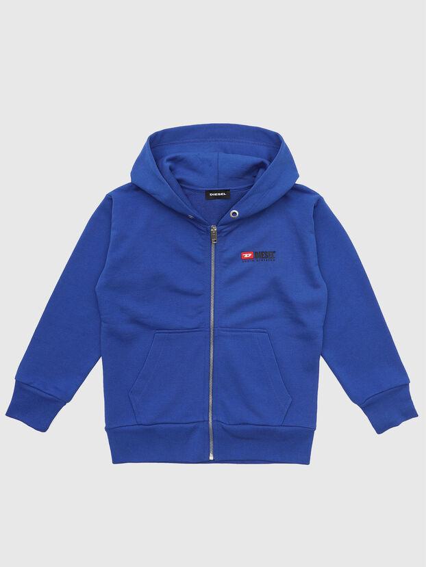 SALBYZIP OVER, Blau - Sweatshirts