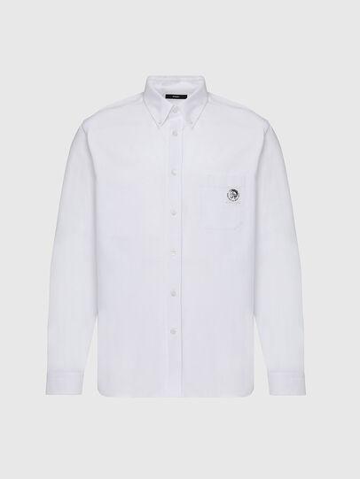 Diesel - S-JAMES, Weiß - Hemden - Image 1