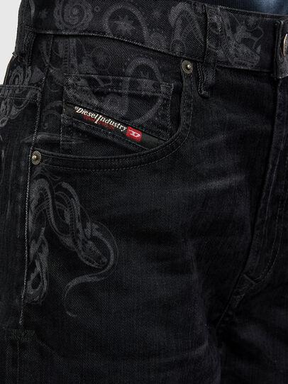 Diesel - D-Reggy 009LC, Schwarz/Dunkelgrau - Jeans - Image 6