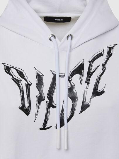 Diesel - F-ANG-HOOD-K21, Weiß - Sweatshirts - Image 3