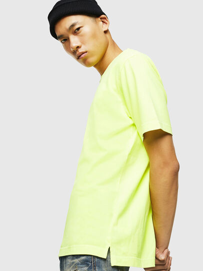 Diesel - T-JUST-SLITS-FLUO,  - T-Shirts - Image 5