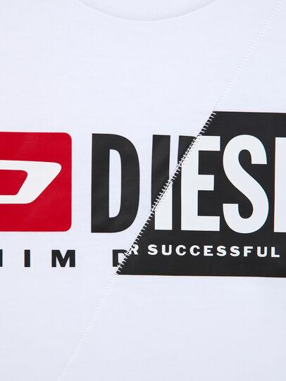Diesel - TDIEGOCUTY ML, Weiß - T-Shirts und Tops - Image 4