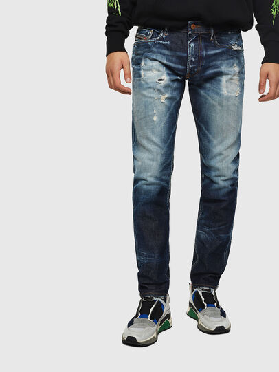 Diesel - Thommer 0092I, Dunkelblau - Jeans - Image 1