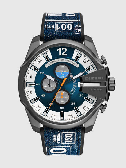 Diesel - DZ4541, Blau/Schwarz - Uhren - Image 1