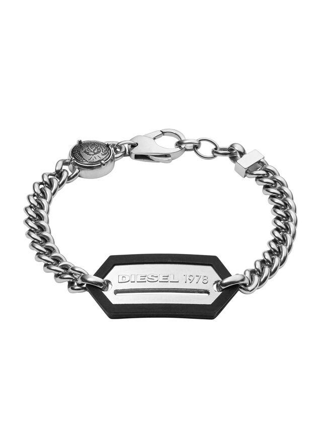 Diesel - BRACELET DX0992, Silber - Armbänder - Image 1
