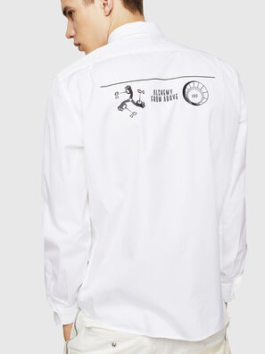 S-VEN-PRINT, Weiß - Hemden
