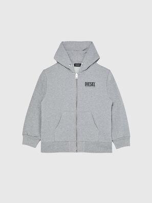 SGIRKHOODZIP-LOGO OV, Grau - Sweatshirts