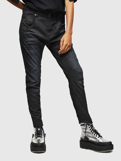 Diesel - Fayza JoggJeans 069GP, Schwarz/Dunkelgrau - Jeans - Image 1