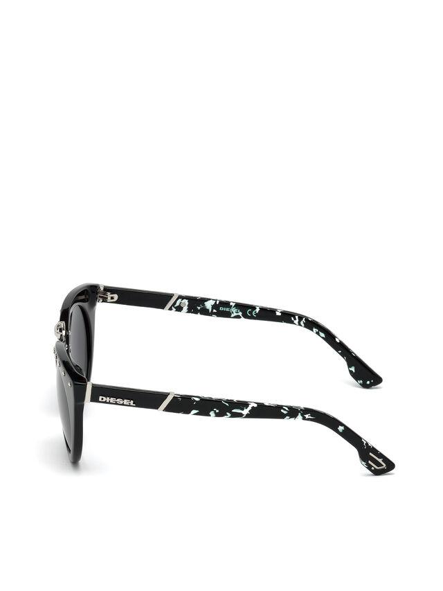 Diesel - DL0211, Schwarz - Sonnenbrille - Image 3