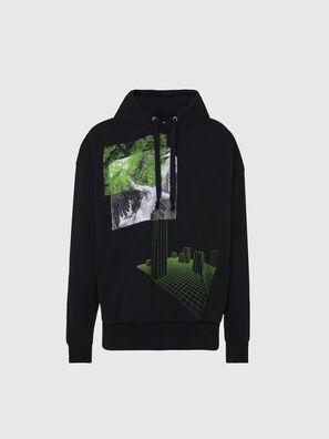 S-ALBY-X2, Schwarz - Sweatshirts