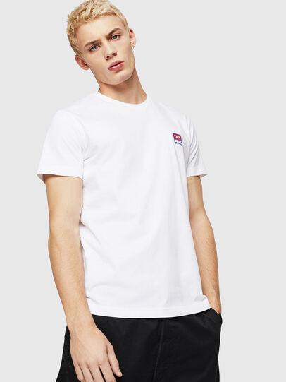 Diesel - T-DIEGO-DIV, Weiß - T-Shirts - Image 1