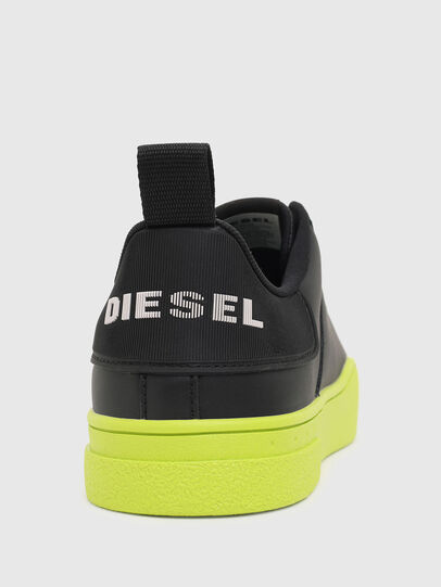 Diesel - S-CLEVER LOW LACE, Schwarz/Gelb - Sneakers - Image 4