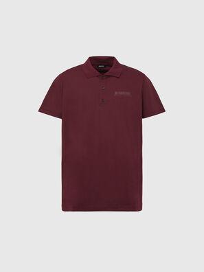 T-WARREL, Rot - Polohemden