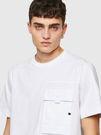 Diesel - T-WORKAN, Weiß - T-Shirts - Image 3