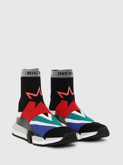 Diesel - H-PADOLA HIGH SOCK, Bunt - Sneakers - Image 2