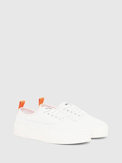 Diesel - S-VANEELA LOW, Weiß/Orange - Sneakers - Image 2