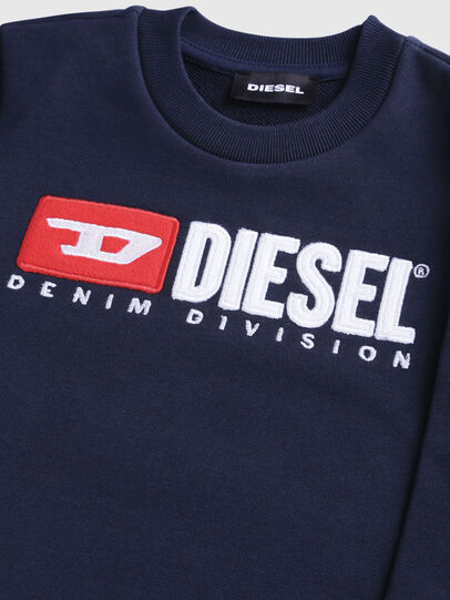 Diesel - SCREWDIVISIONB-R, Dunkelblau - Sweatshirts - Image 3