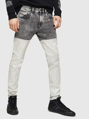 D-Strukt 069GK, Schwarz/Dunkelgrau - Jeans