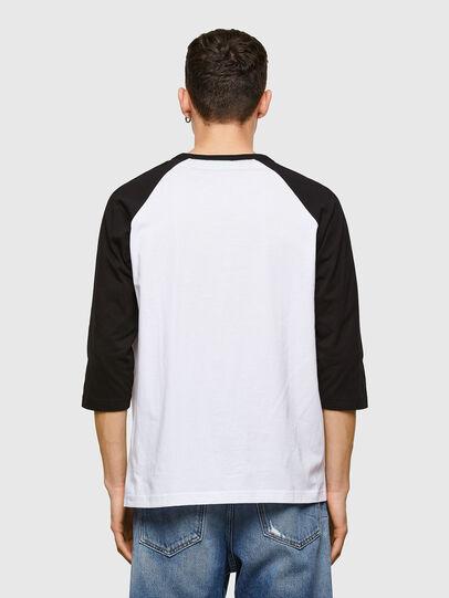 Diesel - T-BEISBOL, Weiß - T-Shirts - Image 2