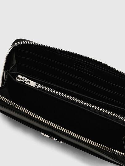 Diesel - GRANATO LC, Schwarz - Portemonnaies Zip-Around - Image 5
