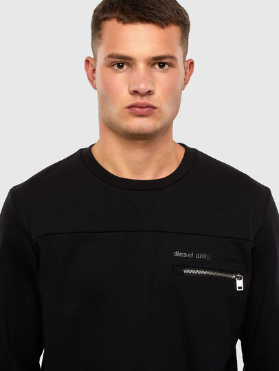 Diesel - S-CORINNE, Schwarz - Sweatshirts - Image 3