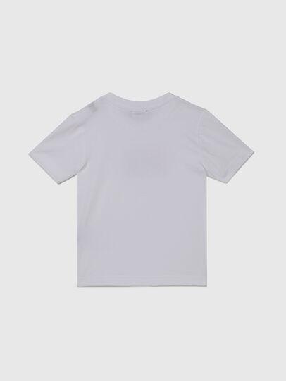 Diesel - TJUSTX62B-R, Weiß - T-Shirts und Tops - Image 2