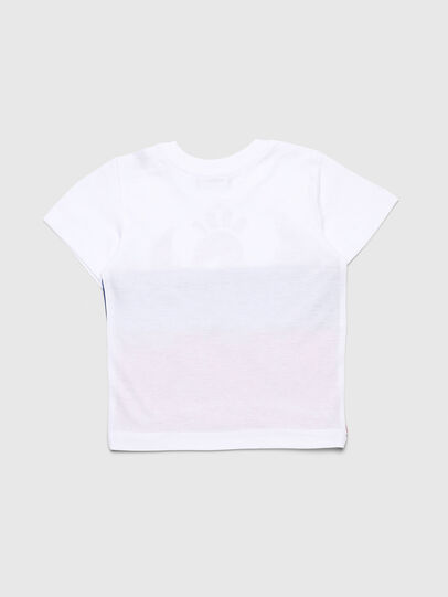 Diesel - TRICKYB, Weiß/Rot/Blau - T-Shirts und Tops - Image 2