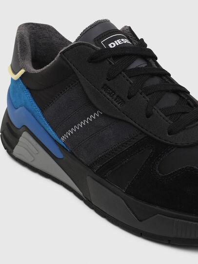 Diesel - S-BRENTHA FLOW, Schwarz/Blau - Sneakers - Image 4