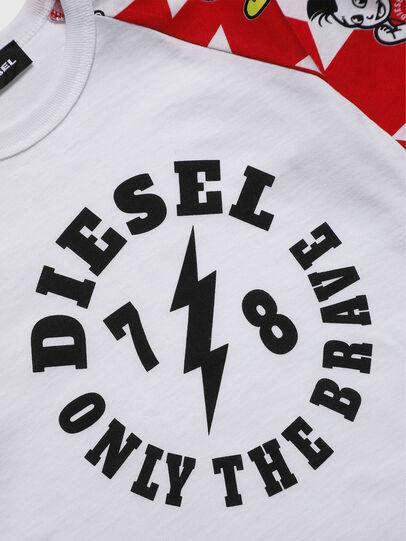 Diesel - TCELLOB-R, Weiß - T-Shirts und Tops - Image 3