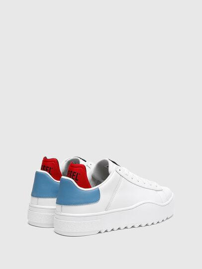 Diesel - S-SHIKA LOW LACE, Weiss/Blau - Sneakers - Image 3