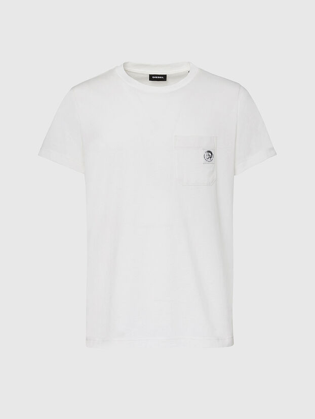 T-WORKY-MOHI, Weiß - T-Shirts