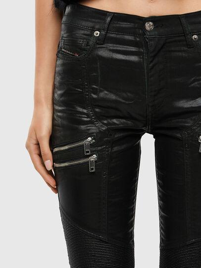 Diesel - D-Ollies JoggJeans® 069QQ, Schwarz/Dunkelgrau - Jeans - Image 5