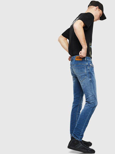 Diesel - Thommer 0097X, Mittelblau - Jeans - Image 4